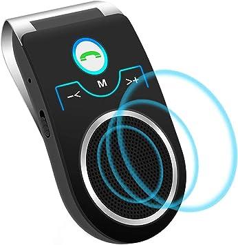 Aigoss Car Bluetooth Visor Car Kit Supports Siri Elektronik