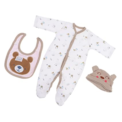 6082a672e895 Amazon.com  MagiDeal Newborn Baby Doll Clothes for 22inch-23inch ...
