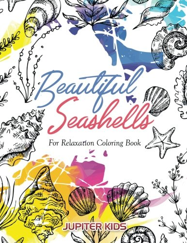 Adult Coloring Books about Seashells