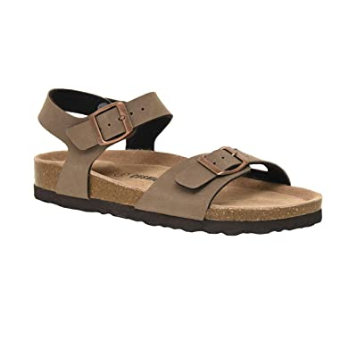 CUSHIONAIRE Women's Lauri Cork Footbed Sandal with +Comfort | Flats