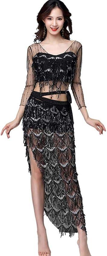 ZYLL Disfraz de Danza del Vientre para Mujer, Disfraces de ...