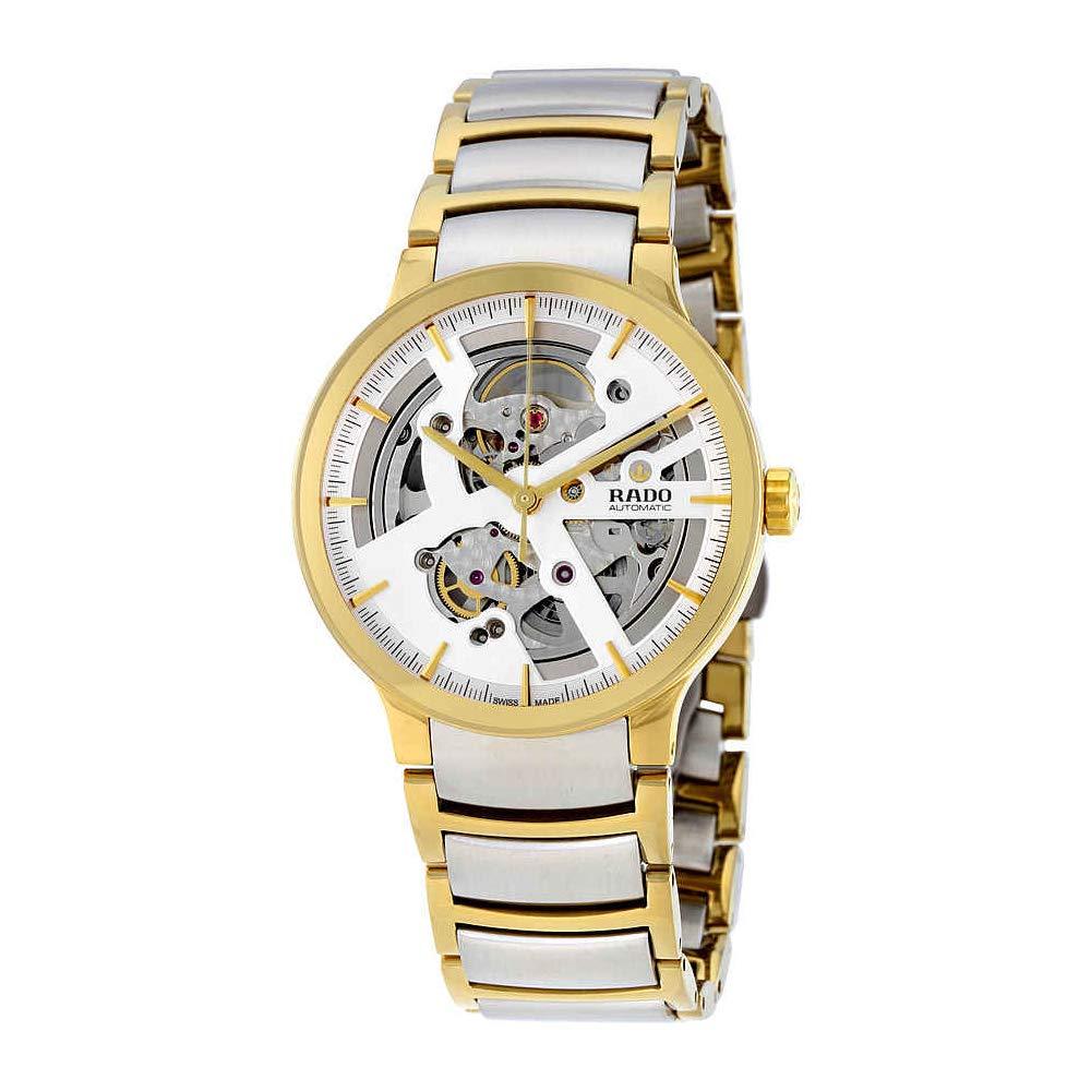 4832c1e4f Amazon.com: Rado Centrix Silver Skeleton Dial Automatic Mens Watch  R30180113: Rado: Watches