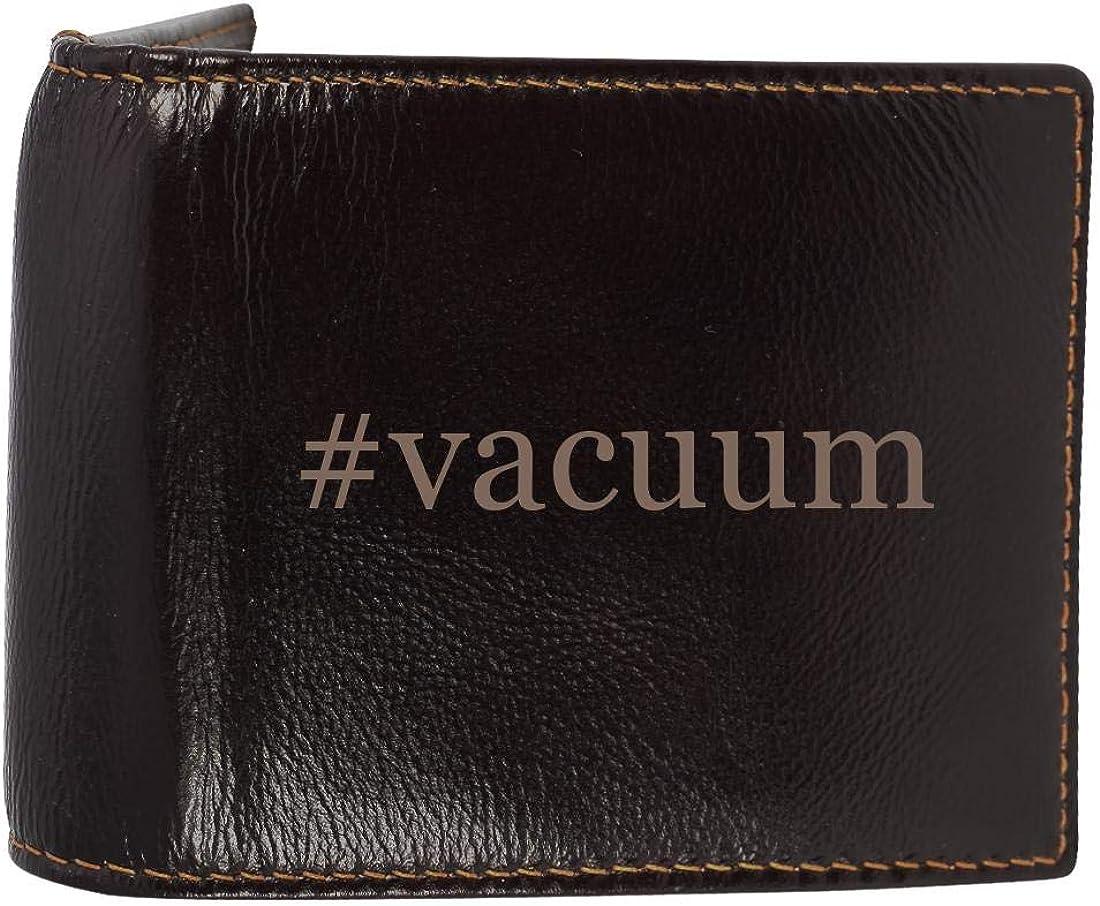 #vacuum - Genuine Engraved Soft Cowhide Bifold Leather Wallet