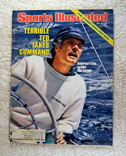 's Cup Winner - Courageous - Sports Illustrated - July 4, 1977 - Auld Mug, Yachting, Sailing - SI (1977 Sports Illustrated Magazine)