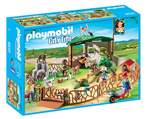 PLAYMOBIL Children's Petting Zoo (Zoo Playmobil)