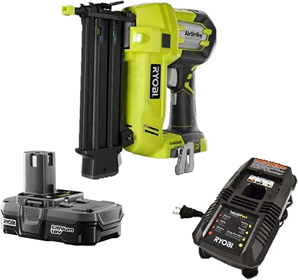 Ryobi One 18v Cordless Brad Nailer P320 Battery Charger, Bulk Packaged