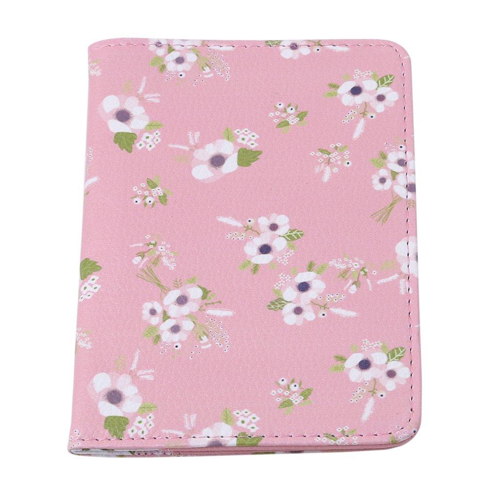 Blanc HENGSONG Imprim/é animal fleur flamingo passeport couverture titulaire voyage cas protecteur couverture cadeau