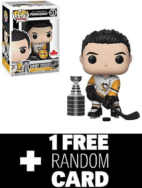 Funko POP Hockey SIDNEY CROSBY NHL Canada Exclusive Figure #31 PENGUINS