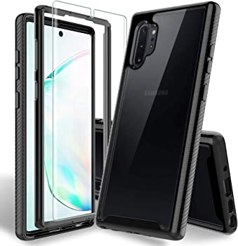 Hatoshi Heavy-Duty Samsung Galaxy Note 10 Plus Case with Screen Protector
