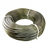 LUXLINE 3/16'' 1x19 Strand Stainless Steel Cable Best 4 Cable Railing T316 1000'