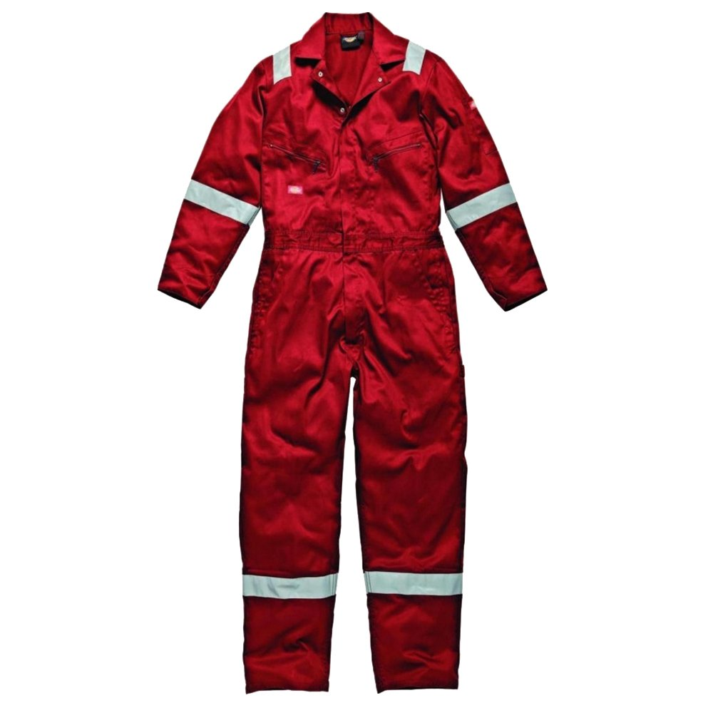 Dickies Mens Work Wear Lightweight Cotton Coverall (Regular Leg Length) Yarmo