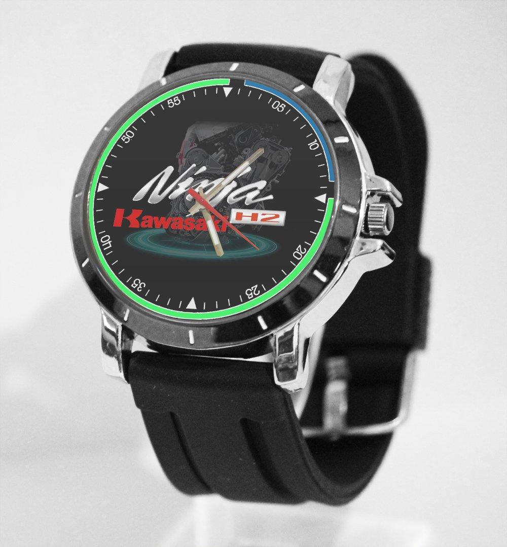 Kawasaki Ninja H2 Reloj Personalizado para tu Camisa: Amazon ...