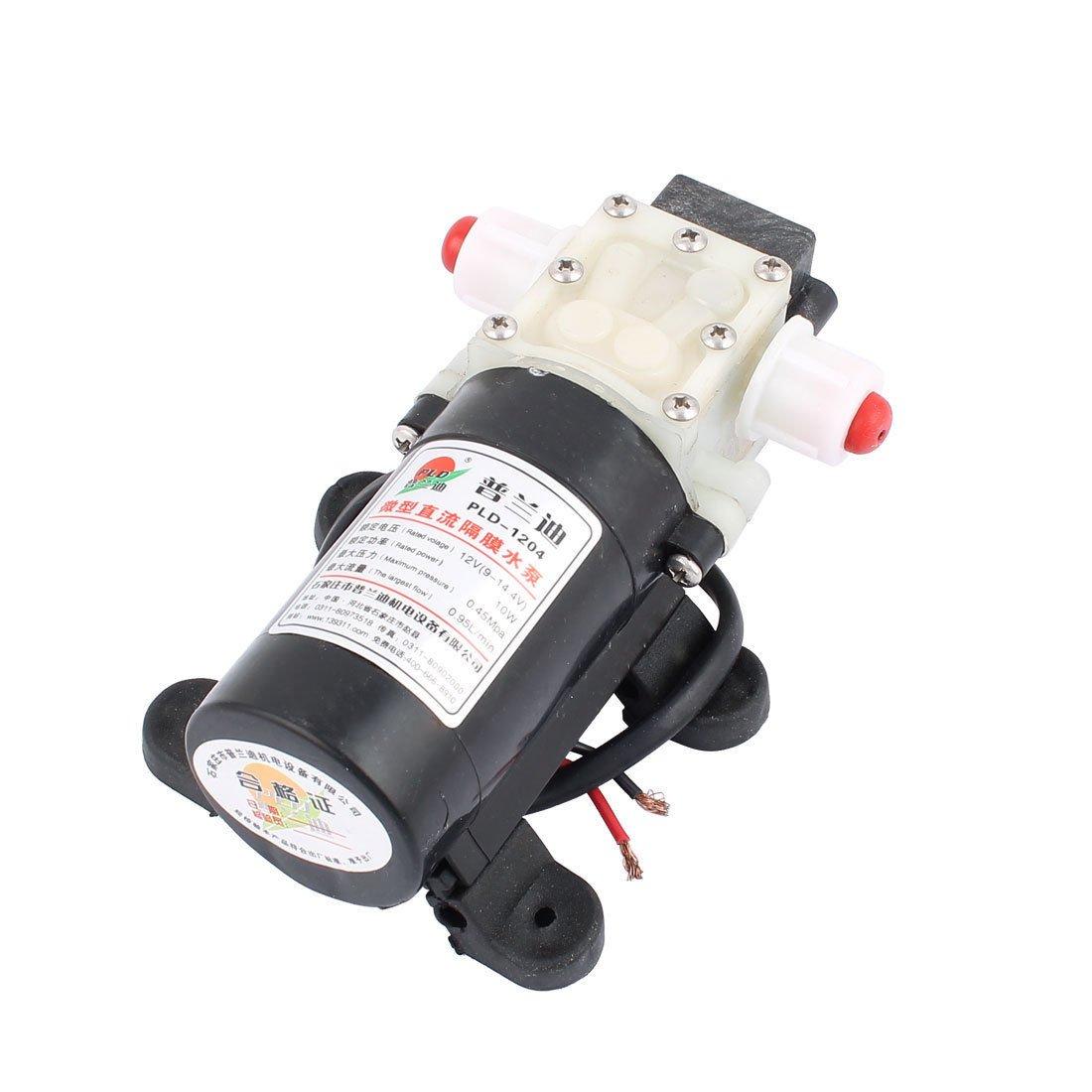 IRUI DC 12V 10W Micro Motor Pump 10mm Thread Outlet Inlet Diaphragm Pump