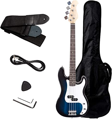 safstar tamaño completo 4 cuerdas para guitarra bajo eléctrico con ...