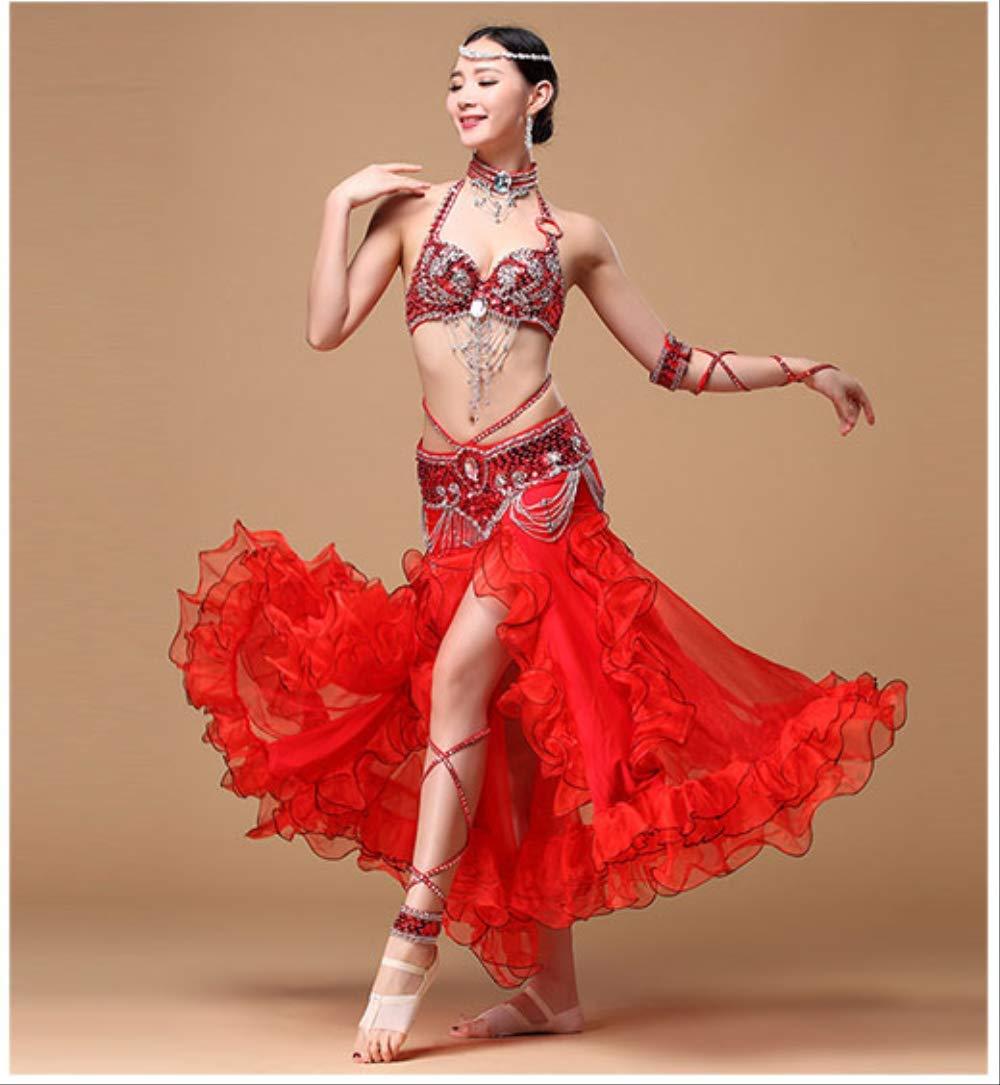 KLMWDDPWY Danza del Vientre Mujer Performance Oriental Belly ...