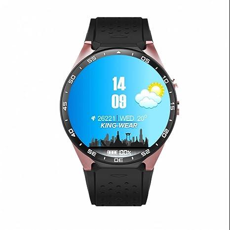 Smart Reloj Inteligente Reloj Fitness Schrittzähler 3 G WiFi tarjeta SIM con GPS Cámara Monitor de