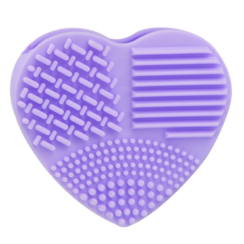 Bolayu Silicone Egg Cleaning Glove, Makeup Washing Brush, Scrubber Tool Cleaners