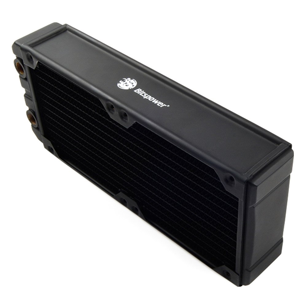 Bits Power Leviathan Xtreme 240 G 1/4 in x 4 Thread Radiator (BP-NLX240-F4PB) by Bits Power (Image #2)