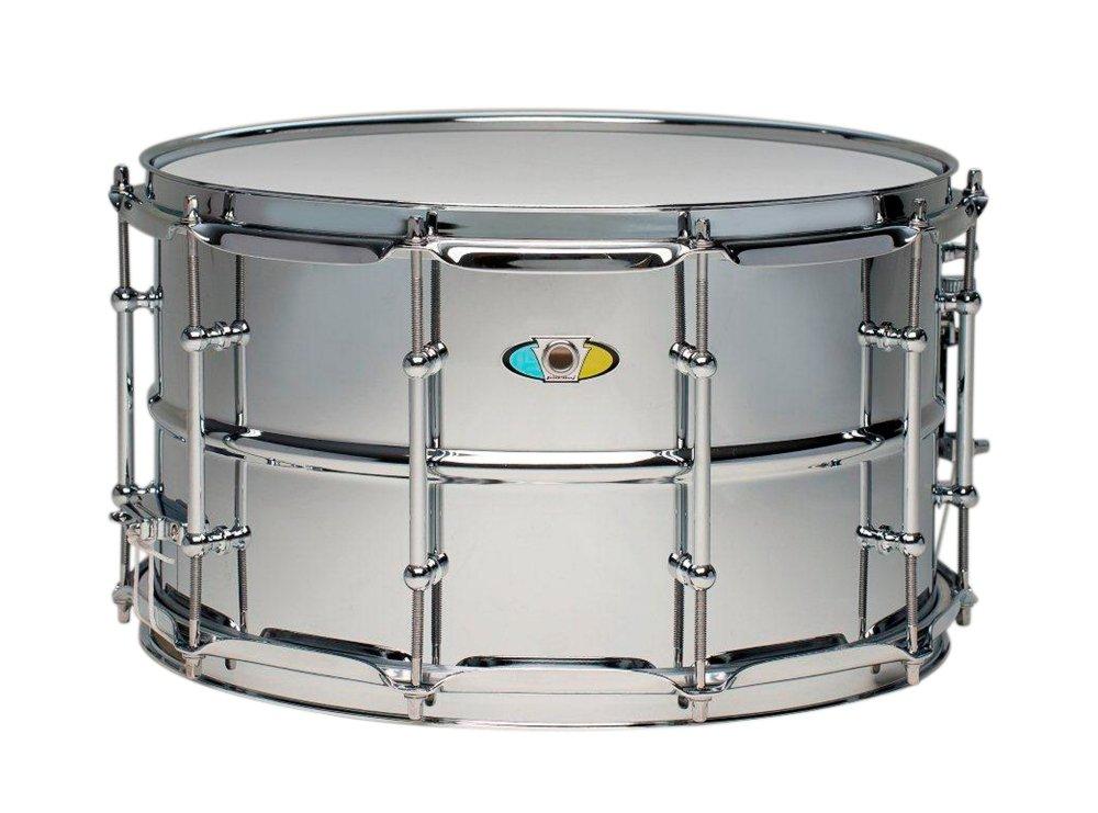 Ludwig Supralite Steel Snare Drum 14 x 8 in. LW0814SL
