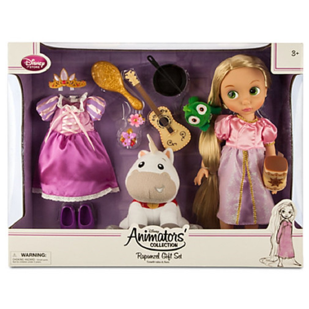Disney - Rapunzel Doll Gift Set - Disney Animators' Collection - NEW by Disney