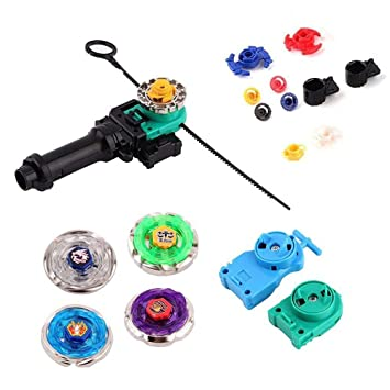 Fusion Masters Kids Rapidity Battling Beyblade Power 4D With Launcher Grip Film- & TV-Spielzeug