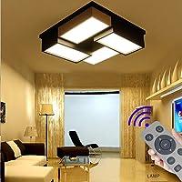 BFYLIN 72W Regulable LED Lámpara Moderna Del Techo Lámpara De Techo Pasillo Salón…