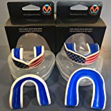 Oral Mart USA Flag Mouth Guard for Kids - Youth