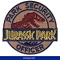 Blue Tiger Trading Jurassic Park, Park Security Officer Movie Prop Theme Park Patch by Btt