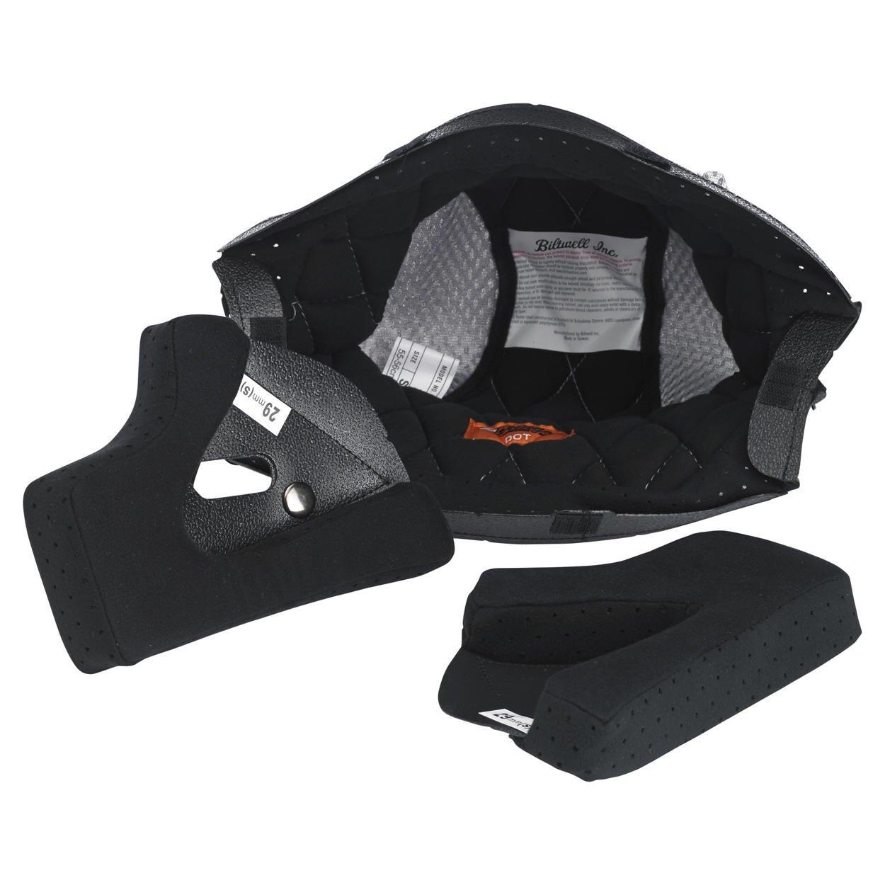 Biltwell Gringo/S Helmet Liner (Grey, Medium)