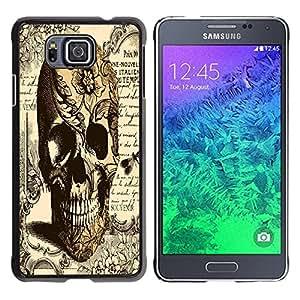 Dragon Case - FOR Samsung ALPHA G850 - .I know all the things? - Caja protectora de pl??stico duro de la cubierta Dise?¡Ào Slim Fit