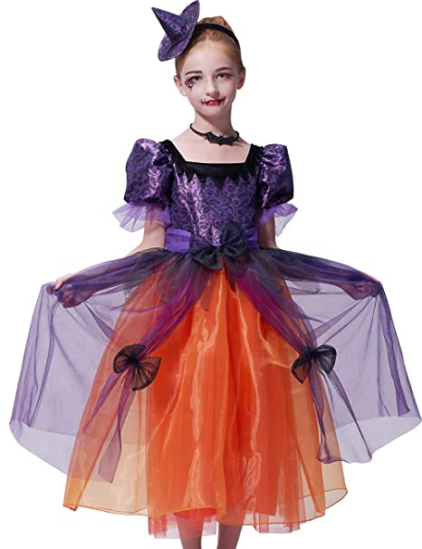 Amazon.com: Disfraz de bruja Ikali, disfraz de araña ...