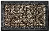 Grassworx Clean Machine Omega Doormat, 24'' x 36'', Earth Taupe (10374063)