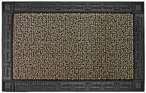 "Grassworx Clean Machine Omega Doormat, 24"" x 36"", Earth Taupe (10374063)"