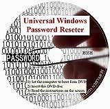 Software : Universal Windows Password Reset DVD Disc Compatible for Windows 10, Windows 7, Windows Vista, Pro XP 32-bit 64-bit All Password Recovery Dell HP Acer Asus Sony Gateway Toshiba IBM Lonovo ⭐⭐⭐⭐⭐