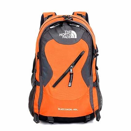 AllureFeng Montañismo al aire libre bolsa impermeable capacidad 40 litros mochila senderismo deportes de aventura escalada