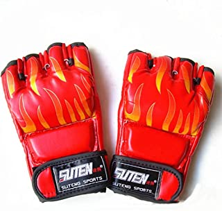 QUANGJISH Gants de Boxe - Entraînement, Kickboxing, Frappant, Muay Thai, Grappling,