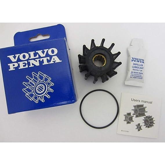Volvo Penta OEM Sea Water Cooling Pump Impeller Kit 4 3L 21951348, 3862567