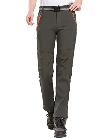 LHHMZ Pantalon de randonnée en Molleton imperméable pour Femme Soft Shell  Stretch Sportswear en Plein air 04ed6f026d6a
