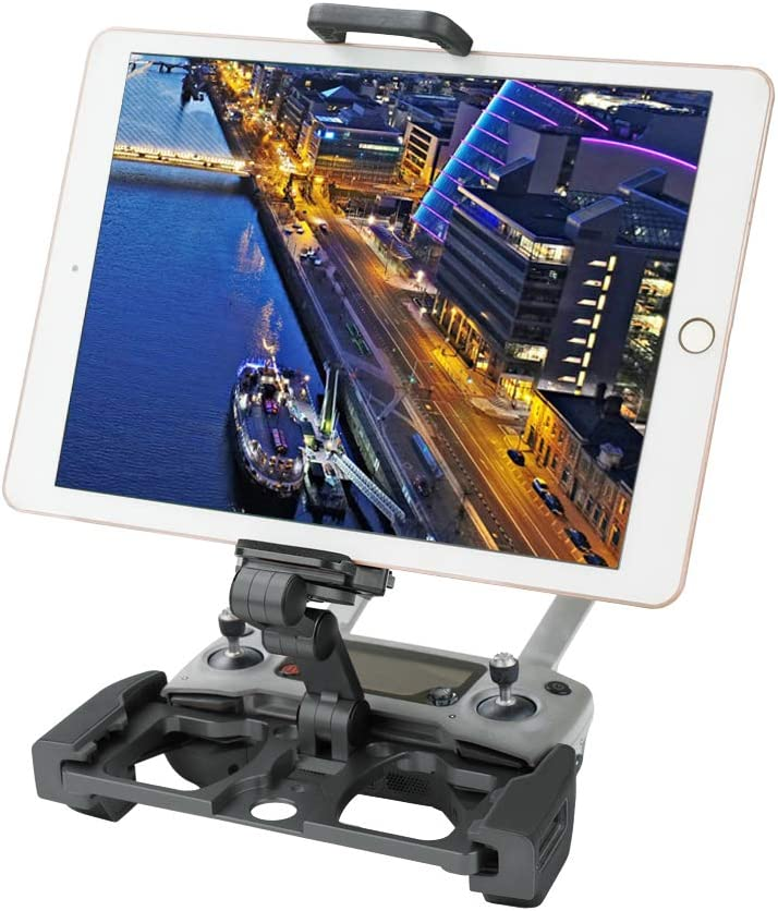 Amazon Com Rcgeek Compatible With Dji Mavic Mini Mavic 2 Pro Zoom Drone Remote Controller Crystal Sky Monitor Accessorie Foldable Aluminum 10inch Tablet Mount Extender Holder With Lanyard