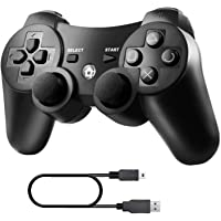 Diswoe Mando Inalámbrico PS3, Bluetooth PS3 Gamepad Controller