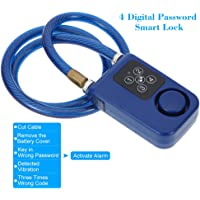 KKmoon 4Digital Contraseña Cadena Smart Lock anti robo