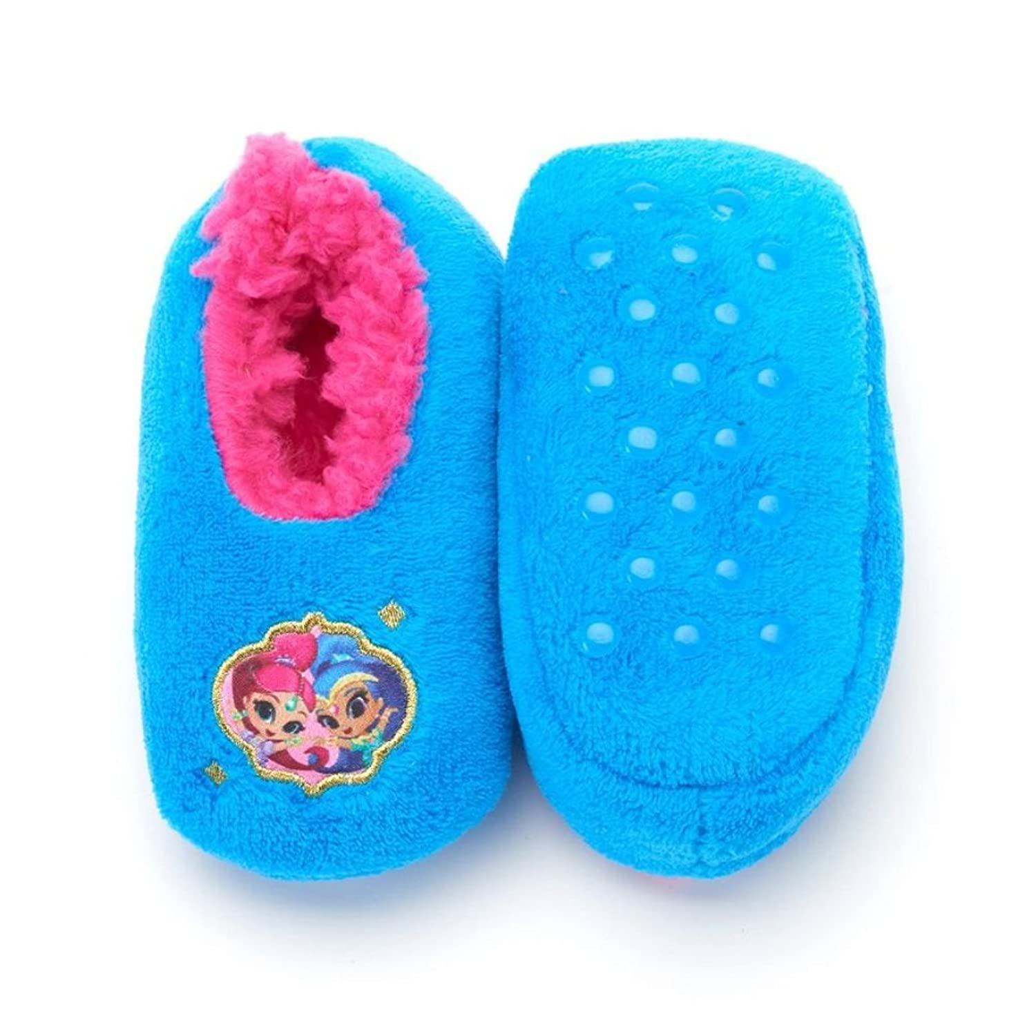 Amazon.com | Nickelodeon Shimmer And Shine Slippers Toddler (3T-4T ...