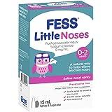 Fess Little Noses Saline Nasal Spray 15 ml + Aspirator