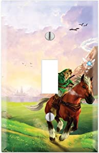 Single Toggle Wall Switch Cover Plate Decor Wallplate - The Legend of Zelda: Ocarina of Time