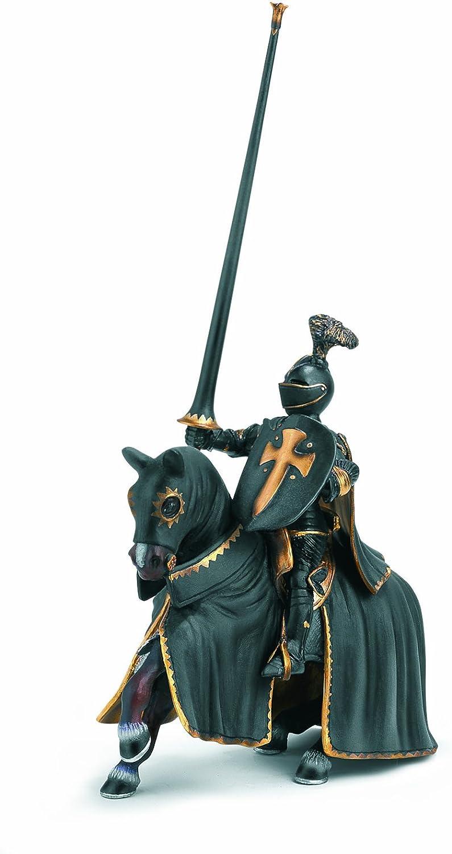 Schleich 70032 - Figura/ Miniatura El Caballero Negro a Caballo