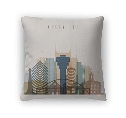 Amazoncom Gear New Throw Pillow Accent Decor Nashville State