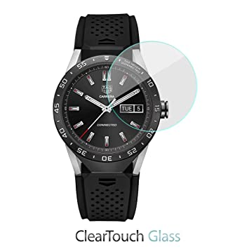 TAG Heuer Connected protection décran, BoxWave® [ClearTouch Verre] Protection d