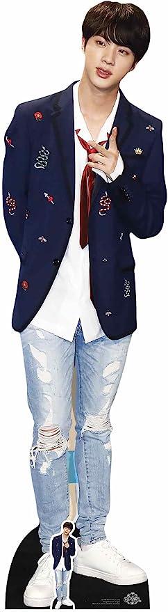 Star Cutouts CS748 Kim Seok-Jin - Corbata para niños (tamaño vital ...