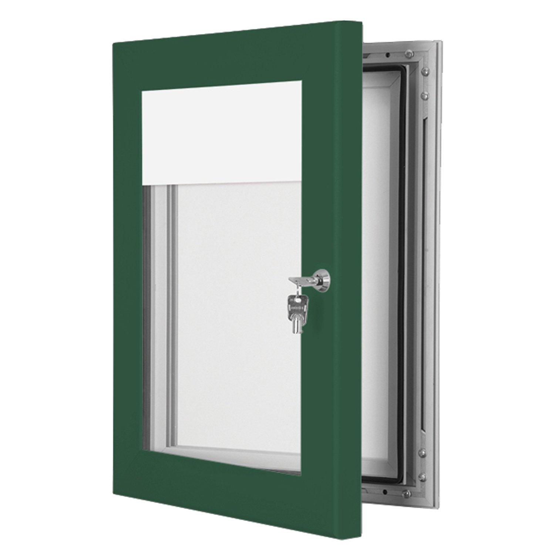 Menu Light Boxes - Moss Green - 739mm x 240mm
