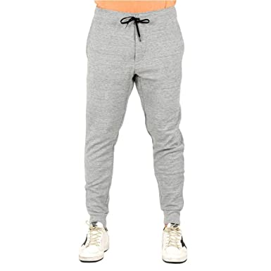 RALPH LAUREN - Pantalon - jogging gris slim - Taille XL  Amazon.fr ... a5efa53f2d98